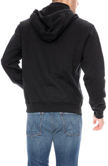Frame Denim Half Zip Hoodie - Noir