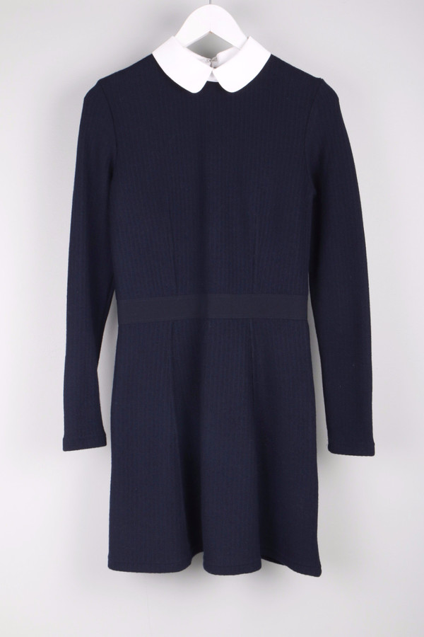 Maison Kitsune Fancy Ribbed Dress