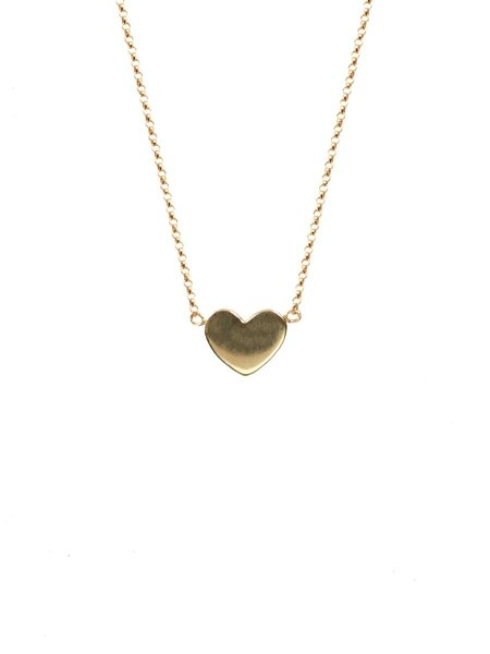 CAMPISE Heart Necklace - GOLD