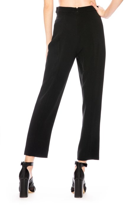 CUSHNIE ET OCHS High Waist Pants - Black