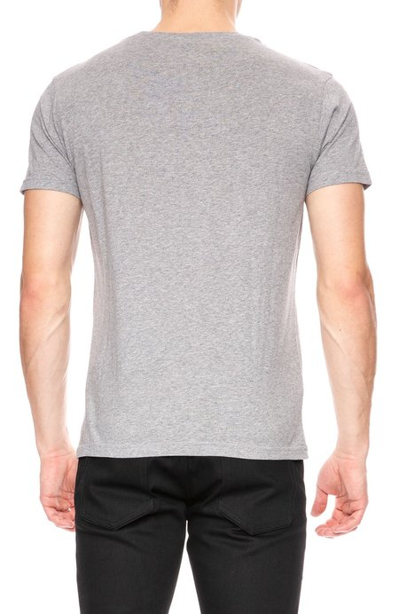 Thinking MU In Bike We Trust T-Shirt - Grey Melange