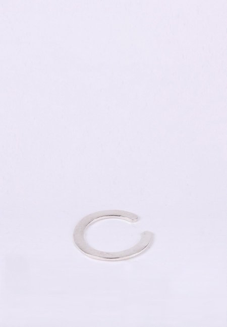 Newend Gap Ring - Silver