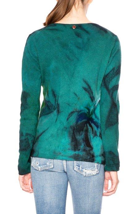 Galadriel Mattei Palm V Neck Sweater