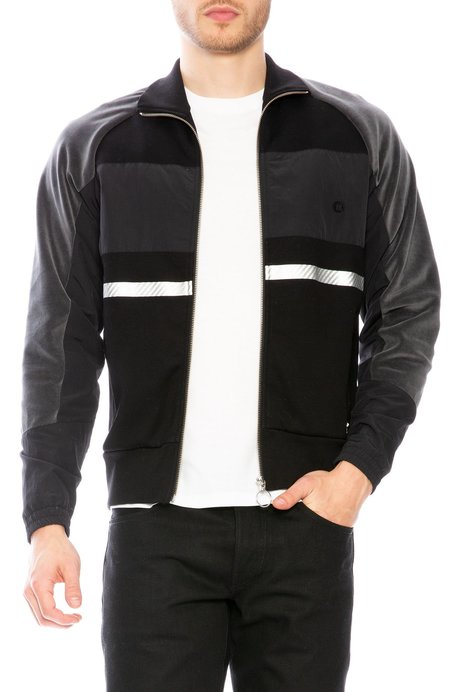 Tim Coppens Marshall Track Jacket - Black Mix