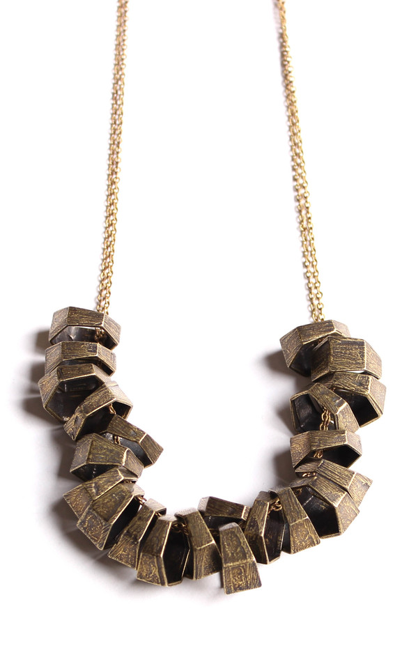 Laura Lombardi Hexagon Necklace