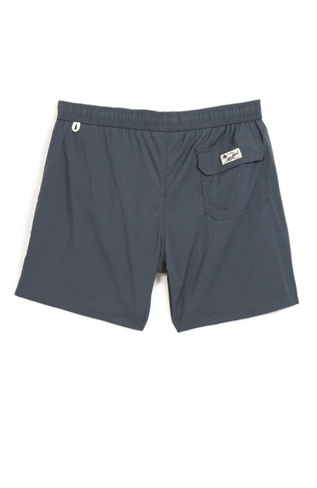 Hartford Regular Fit Woven Swim Shorts - Gray