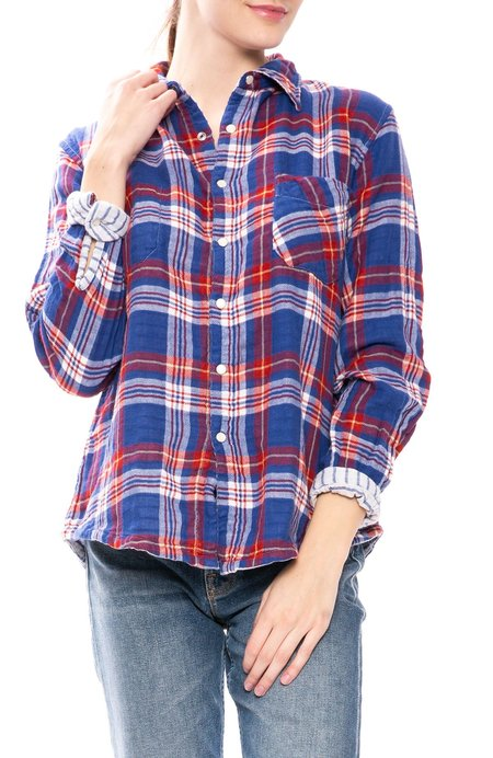 American Colors Reversible Snap Button Shirt - Napa