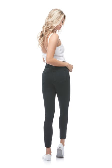 Yoga Jeans Classic Rise Ankle - Black Silent