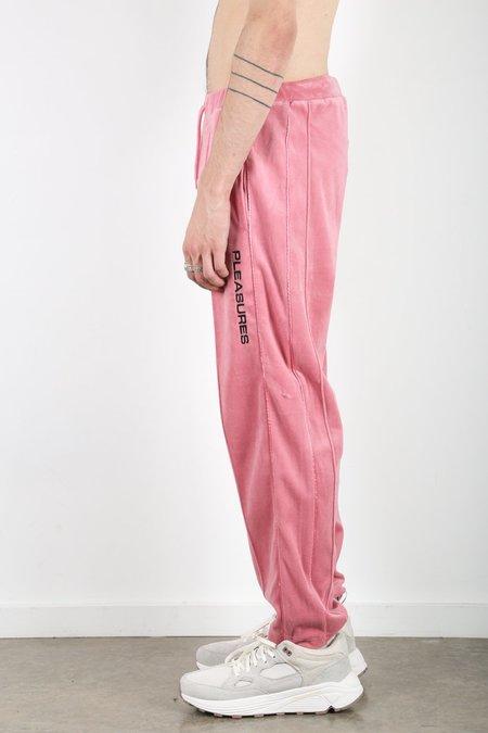 PLEASURES Cozy Velour Pant - Dusty Rose