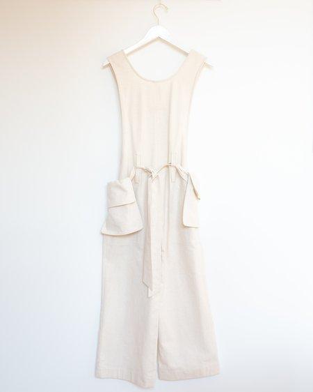 House Dress Gregory Jumpsuit - Ecru