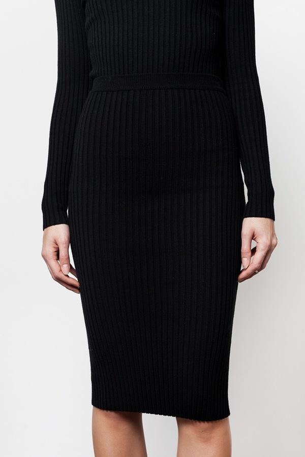 giu giu Nonna Skirt   black