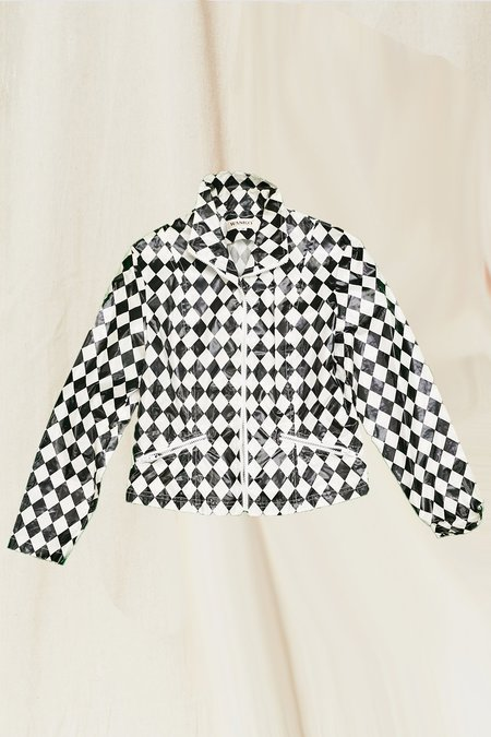 Vintage Jester Jacket - Black/White