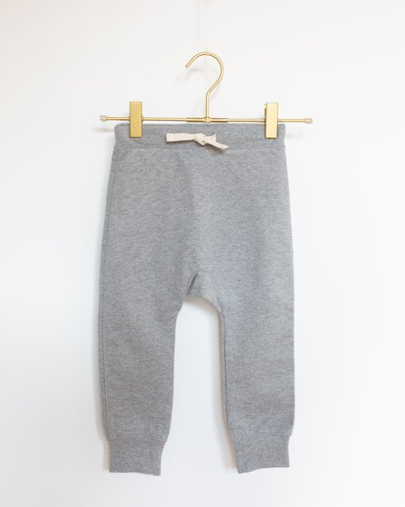 Kids Gray Label Seamless Baggy Pants - Grey Melange