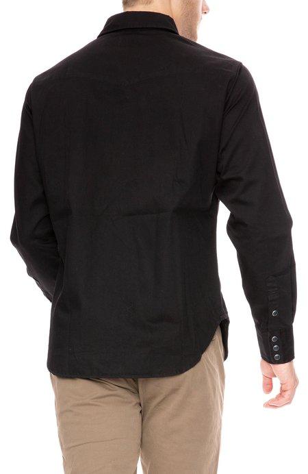 COF Studio Twill Western Shirt - Black