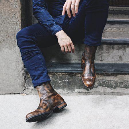 Noah Waxman Bedford Boot - Earth
