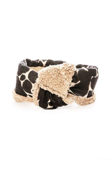 Yarn & Copper Wool Headband Scarf