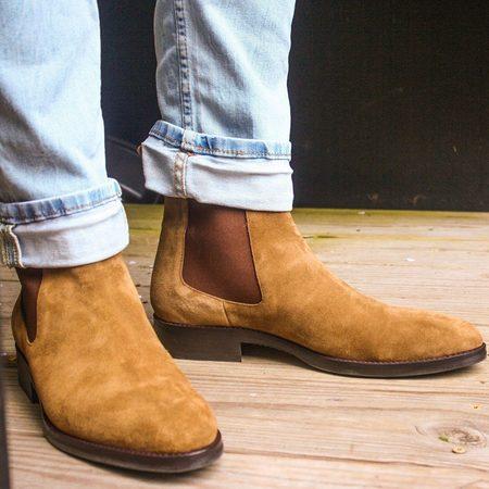 Noah Waxman Madison Boots - Tobacco