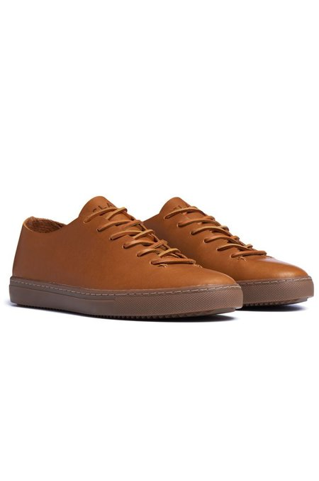 Clae One Piece Curry Leather - Tobacco