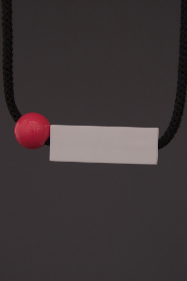 One We Made Earlier Isa Necklace Pink