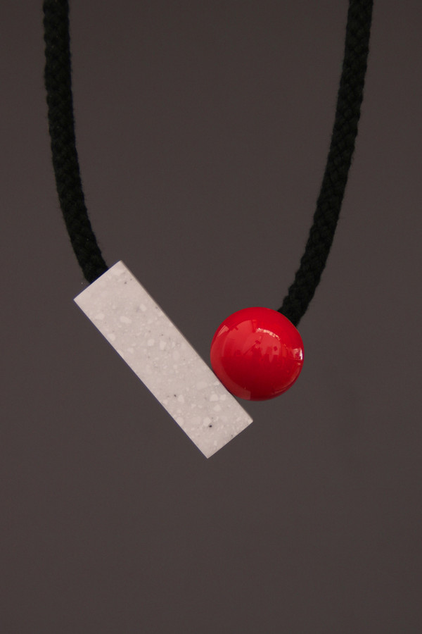 One We Made Earlier Josef Necklace Red