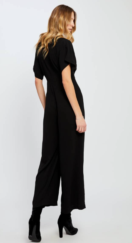 Gentle Fawn Searra Jumpsuit - BLACK