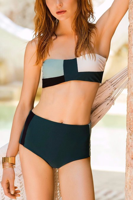 Touche Color Block Bandeau