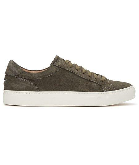 Unseen Helier Suede Sneakers - Khaki