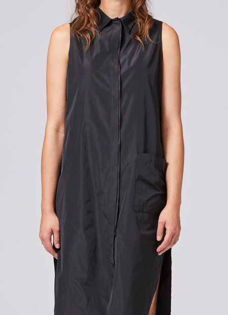 Shosh NYC Shirt Dress - BLACK