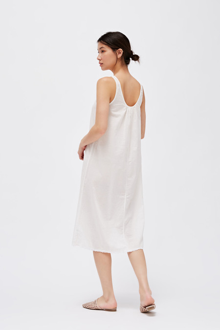 LACAUSA Wendy Dress - Panna Cotta