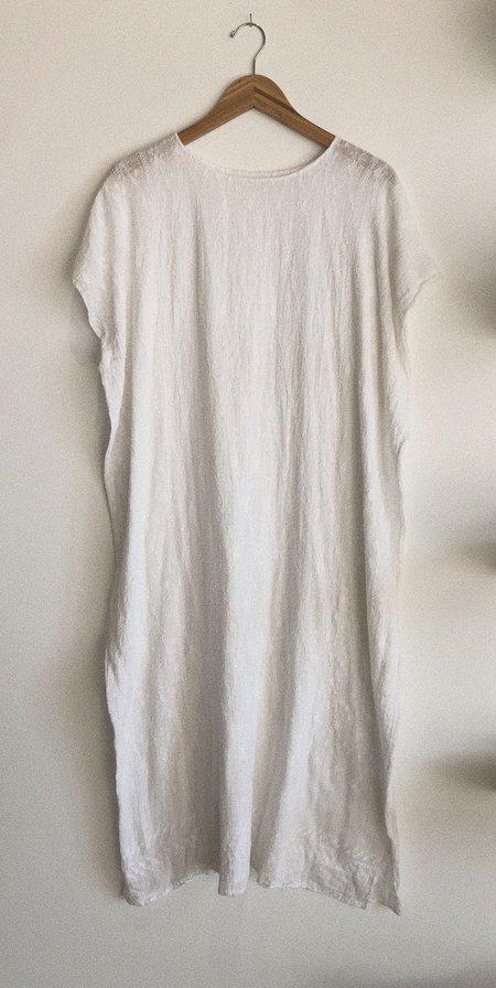 Boy+Girl GUAT CO-OP DRESS - WHITE