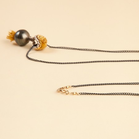 Ishi Pearl Long Necklace