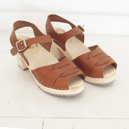 Lotta from Stockholm clogs - TAN