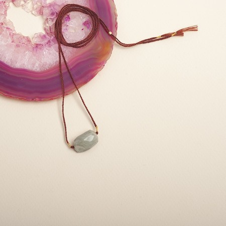 Cooperative de Creation Aquamarine Necklace