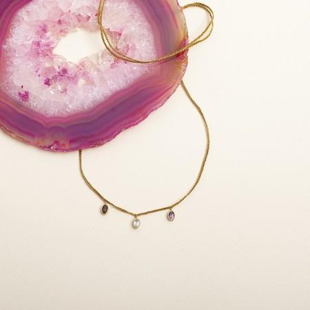 cooperative de creation 3 Charms Necklace