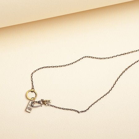 cooperative de creation Horseshoe and Clover Necklace