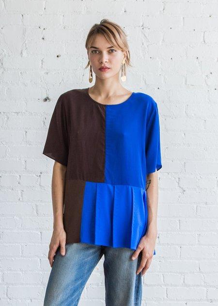 Correll Correll Topa Top - Brown/Blue