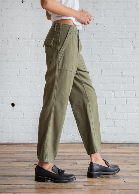 r13 Straight Utility Pants - Fatigue Olive