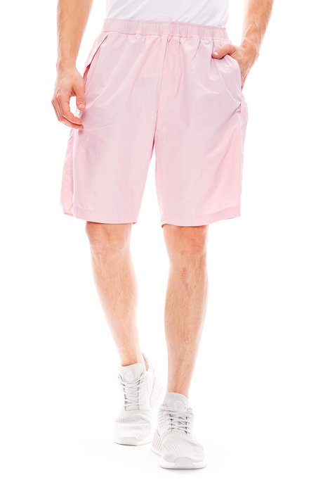 Tim Coppens Staple Drawstring Shorts - Dusty Pink