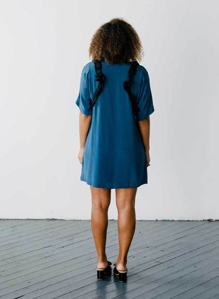 Seek Collective Cove Dress - Indigo Blue