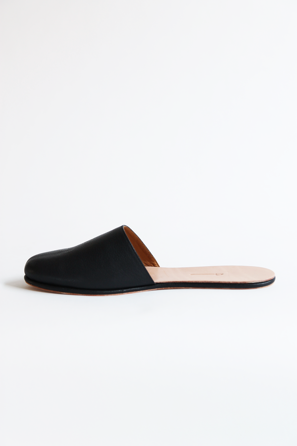 THE PALATINES cognitio slide slipper black