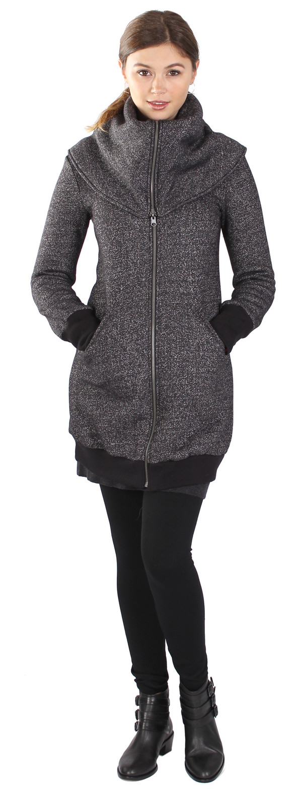 Curator Seacliff Speckle Coat