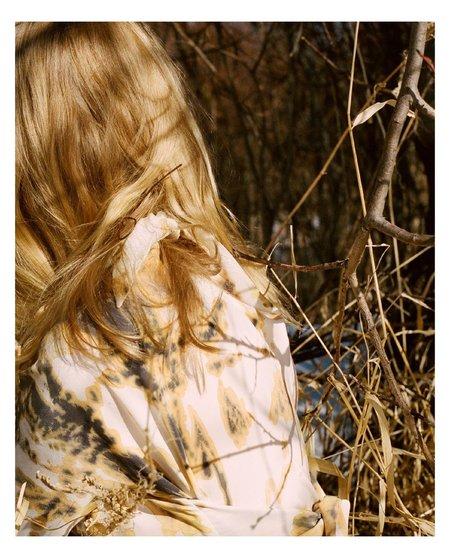 Urbanovitch Dry-Dyed Silk Bias Cut Dress - Earth