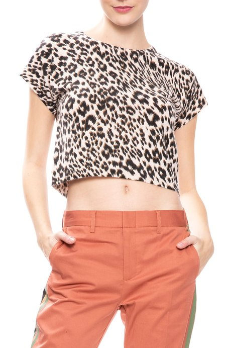 Le Superbe Frances Leopard Sweater Tee