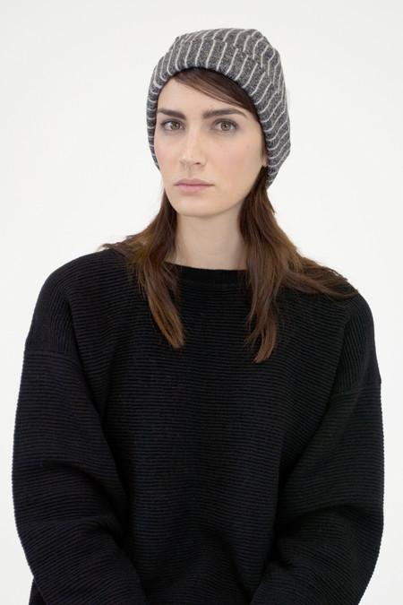 Micaela Greg Pinstripe Hat