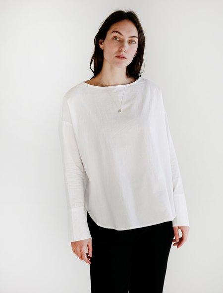 Priory Sto Light Poplin Shirt - White