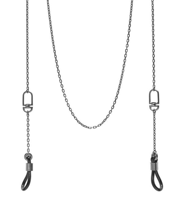 Maria Black Black Bow Sunglasses Chain