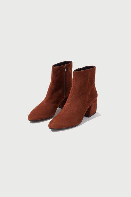 Vagabond Olivia Suede Boot - Brown