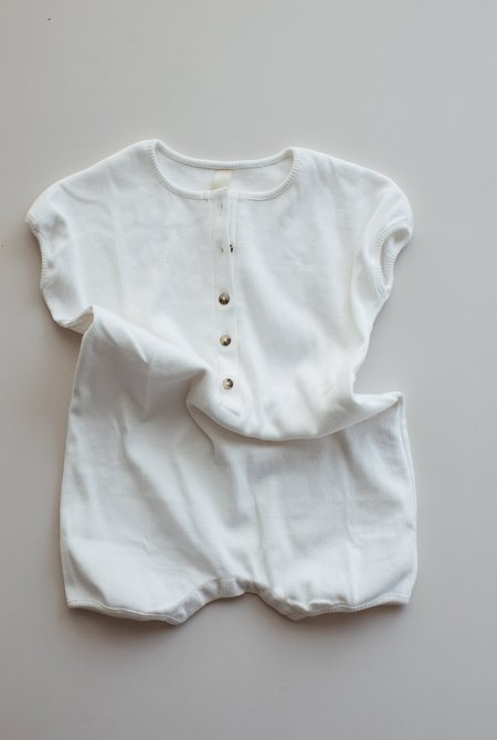 KIDS Millk Weekly Playsuit - CREAM