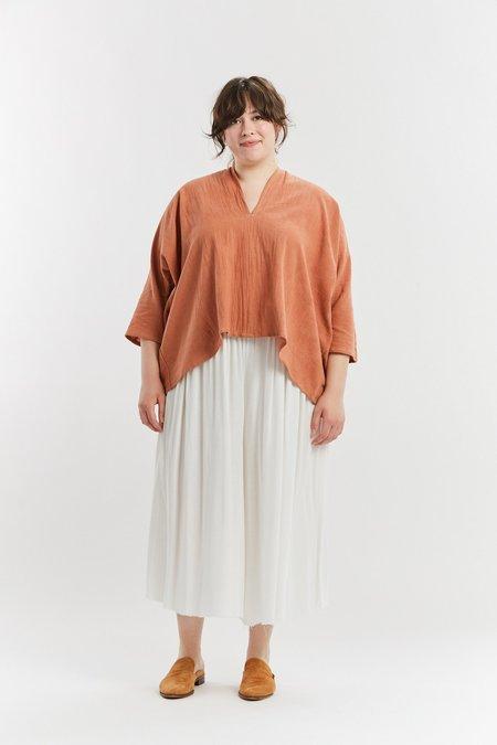 Miranda Bennett Textured Cotton Muse Top - Taos