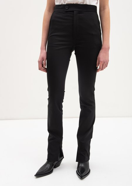Helmut Lang Polished Legging Pants - Black